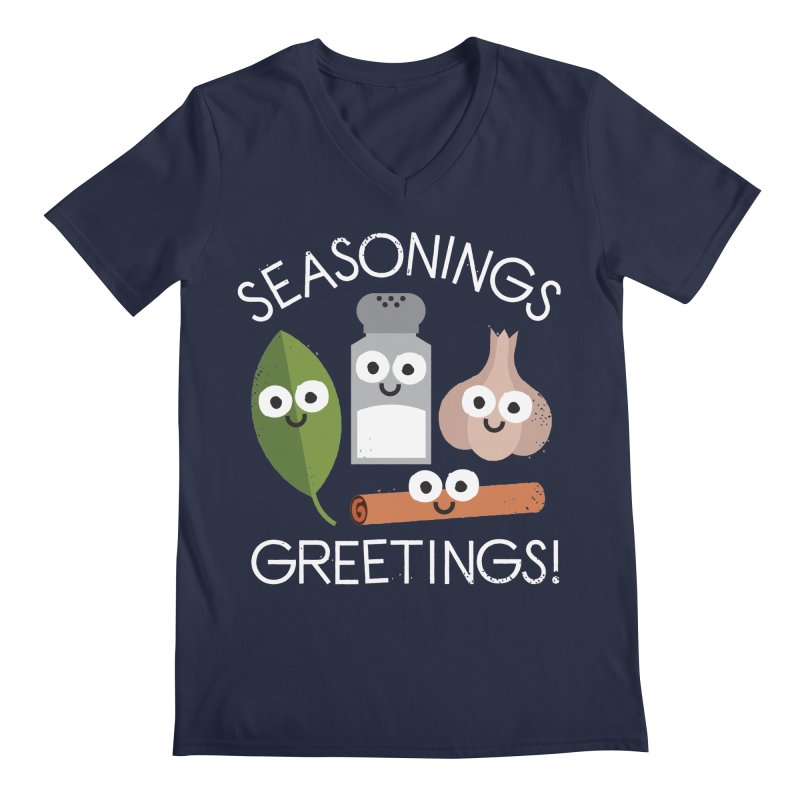 My Favorite Things Men's V-Neck by David Olenick