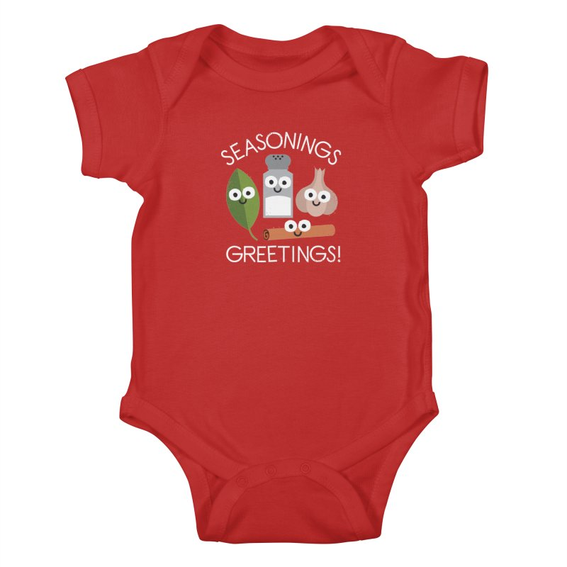 My Flavorite Things Kids Baby Bodysuit by David Olenick