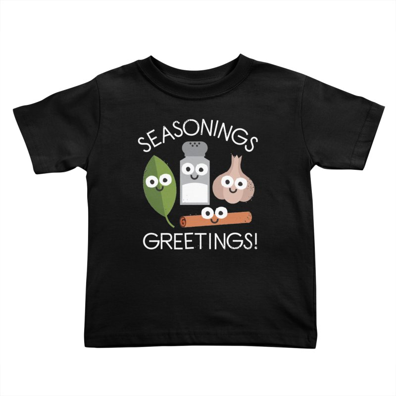 My Flavorite Things Kids Toddler T-Shirt by David Olenick