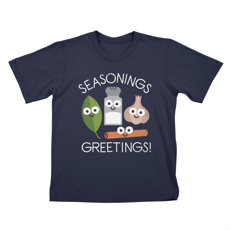 My Flavorite Things Kids T-Shirt by David Olenick