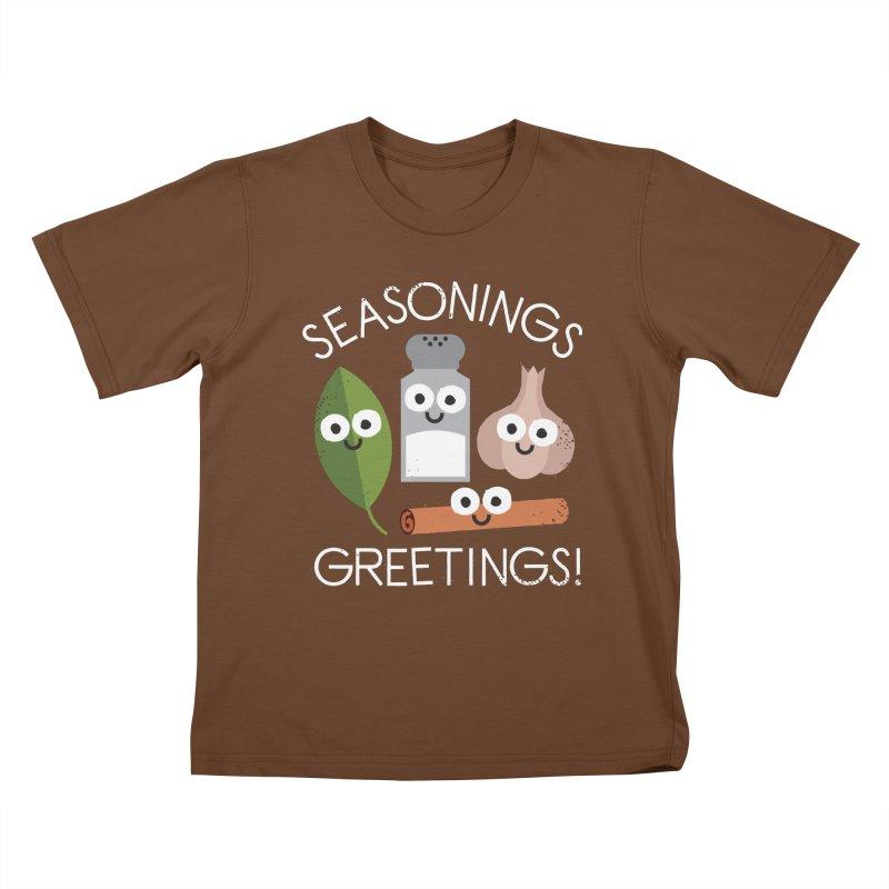 My Flavorite Things Kids T-Shirt by David Olenick