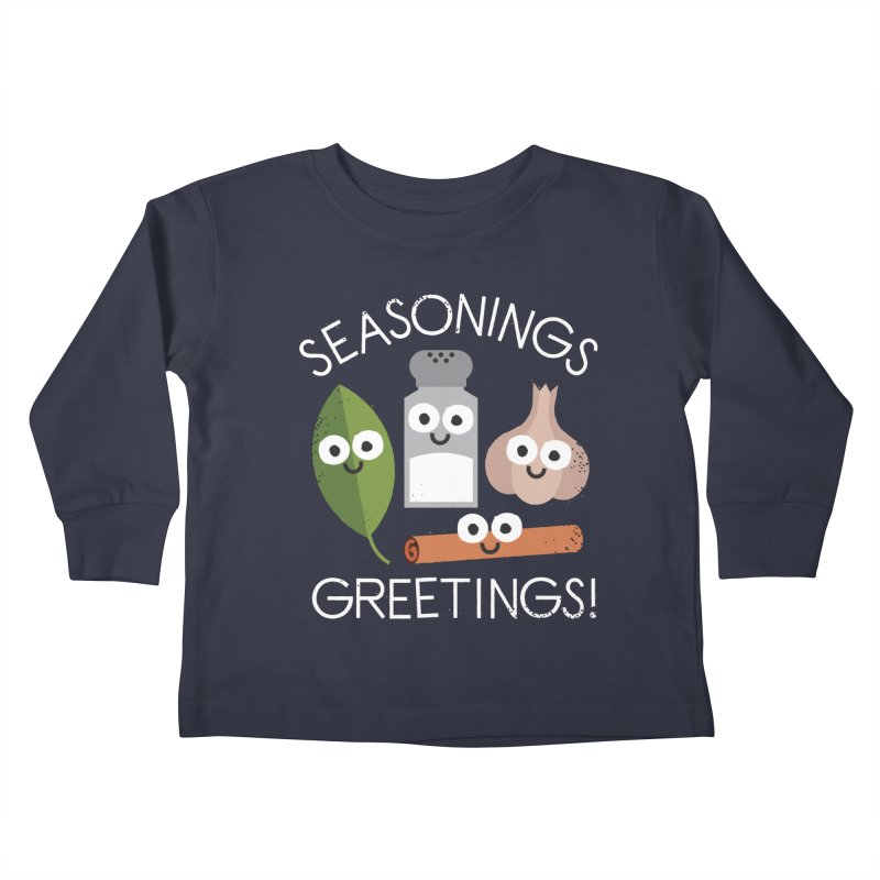 My Flavorite Things Kids Toddler Longsleeve T-Shirt by David Olenick