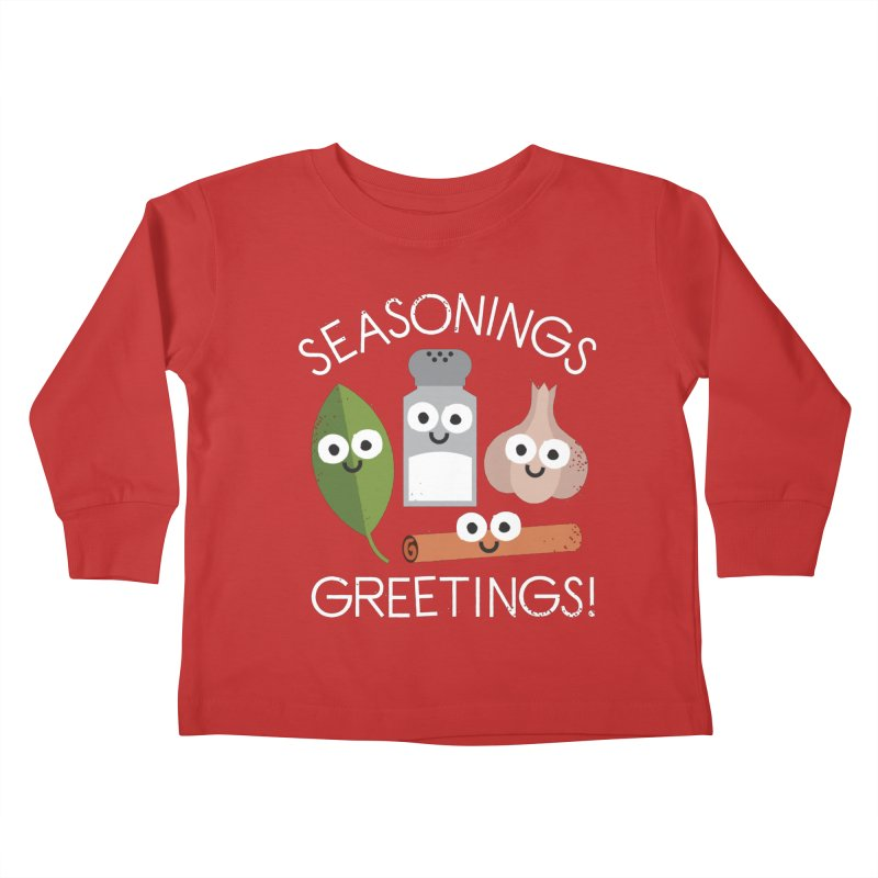 My Flavorite Things Kids Toddler Longsleeve T-Shirt by David Olenick