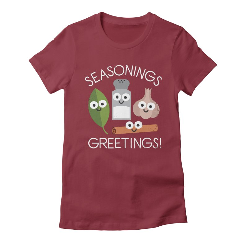 My Flavorite Things Women's Fitted T-Shirt by David Olenick