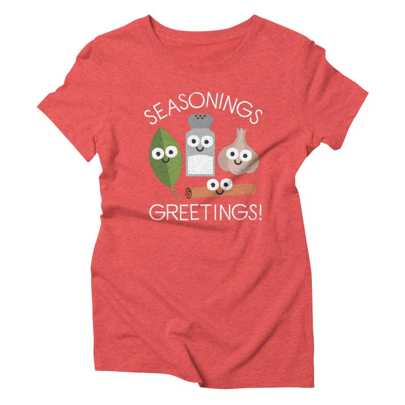 My Flavorite Things Women's Triblend T-Shirt by David Olenick
