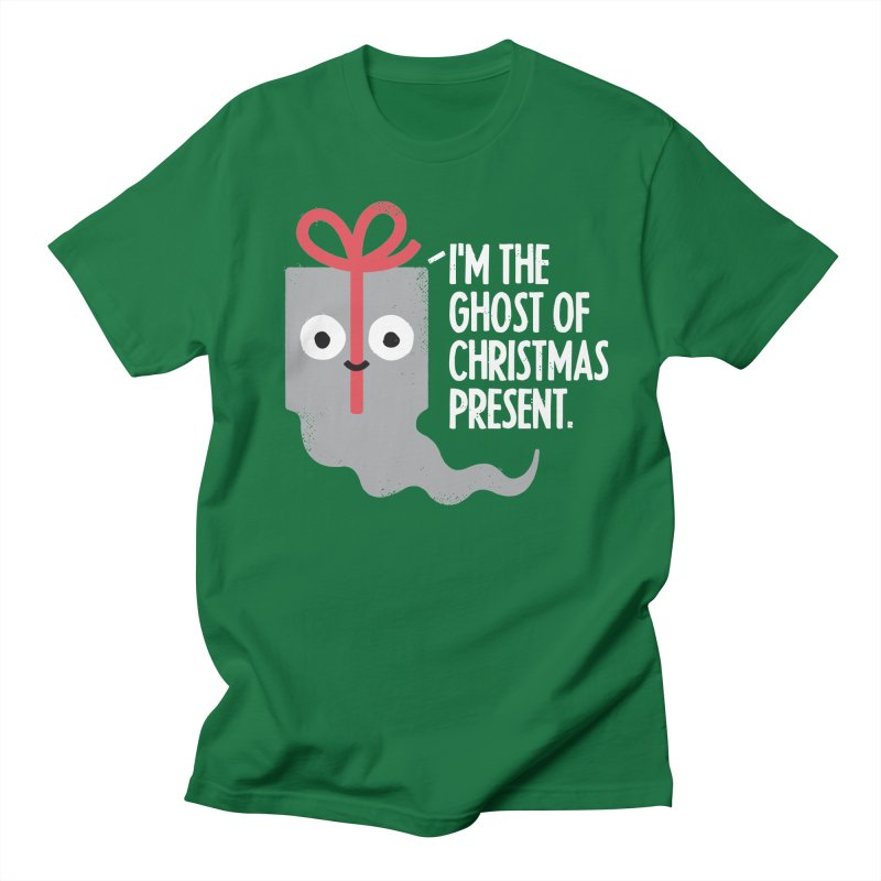 The Spirit of Giving in Women's Unisex T-Shirt Kelly Green by David Olenick