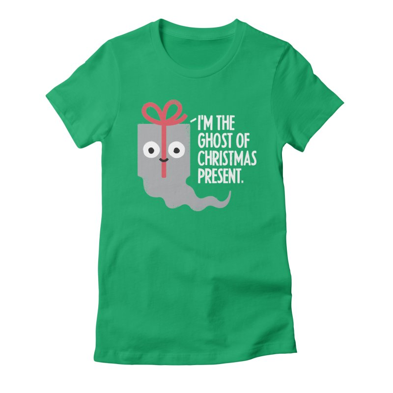 The Spirit of Giving Women's Fitted T-Shirt by David Olenick