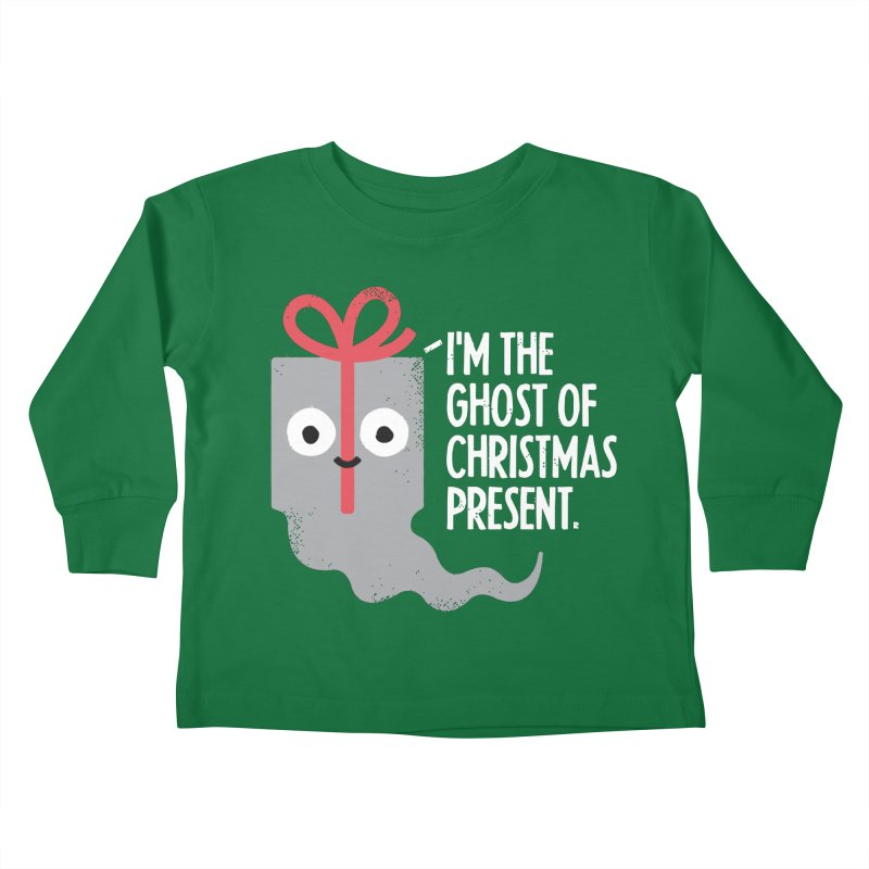 The Spirit of Giving Kids Toddler Longsleeve T-Shirt by David Olenick
