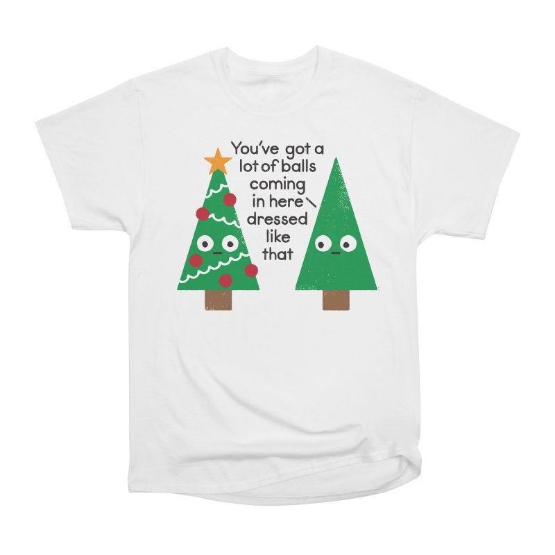 Spruced Up Men's Classic T-Shirt by David Olenick