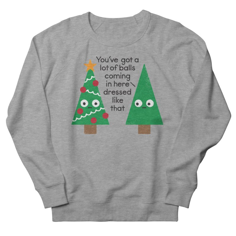 Spruced Up Men's Sweatshirt by David Olenick