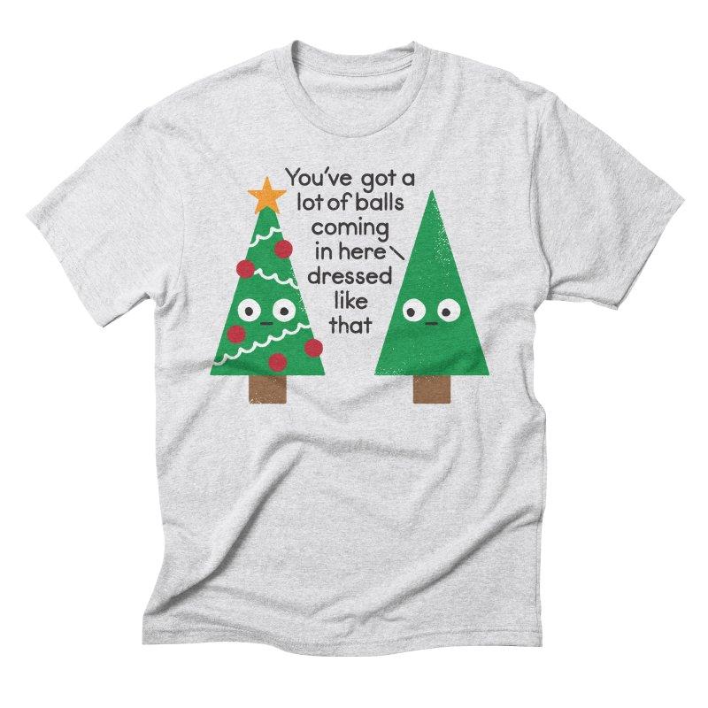 Spruced Up Men's Triblend T-Shirt by David Olenick