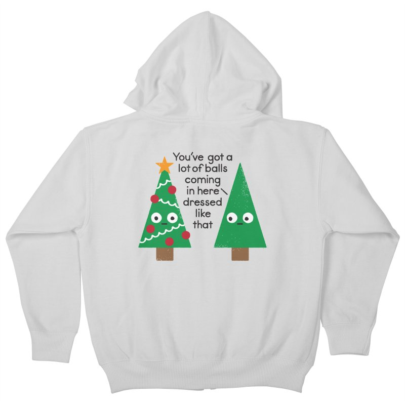 Spruced Up Kids Zip-Up Hoody by David Olenick