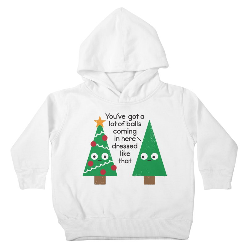Spruced Up Kids Toddler Pullover Hoody by David Olenick
