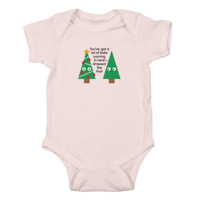 Spruced Up Kids Baby Bodysuit by David Olenick