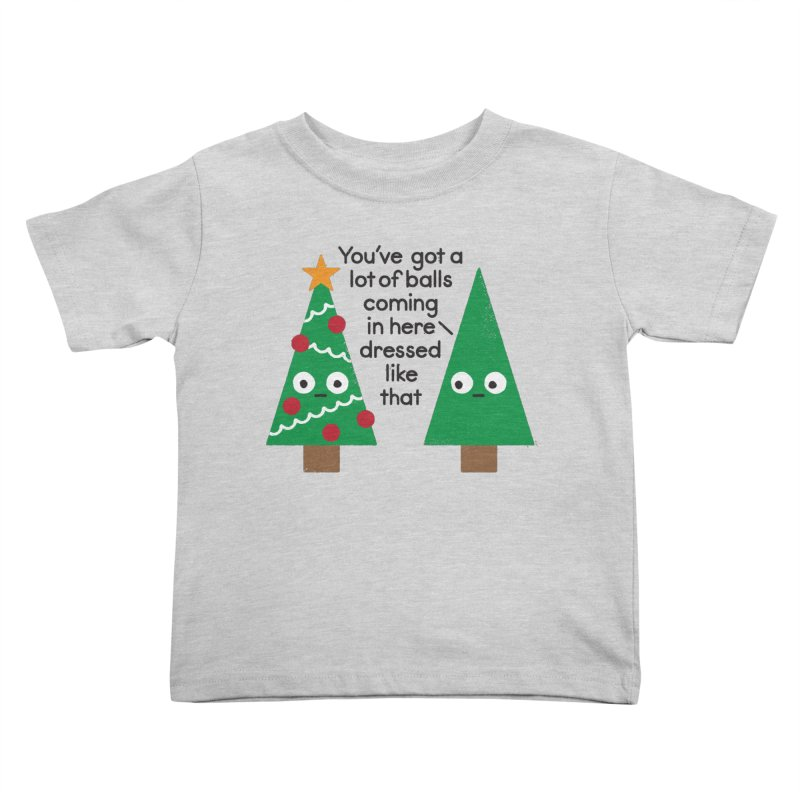 Spruced Up Kids Toddler T-Shirt by David Olenick