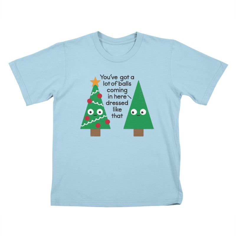 Spruced Up Kids T-Shirt by David Olenick