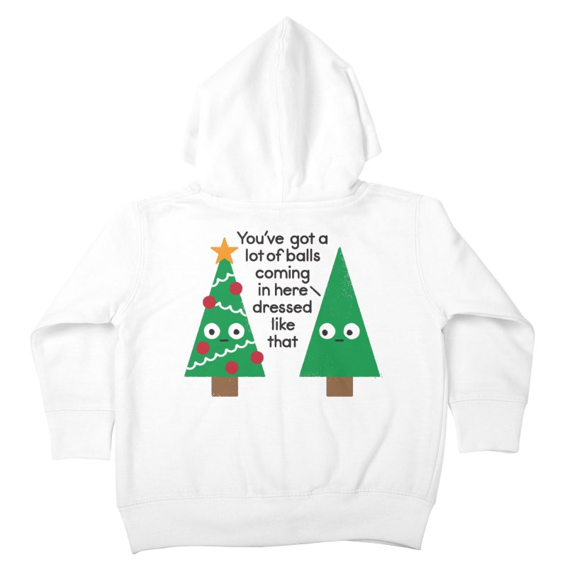 Spruced Up Kids Toddler Zip-Up Hoody by David Olenick