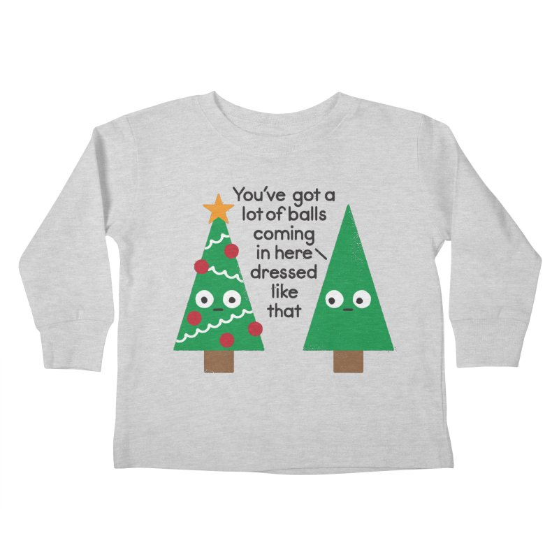Spruced Up Kids Toddler Longsleeve T-Shirt by David Olenick