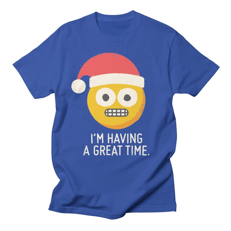 White Knuckle Christmas Women's Unisex T-Shirt by David Olenick