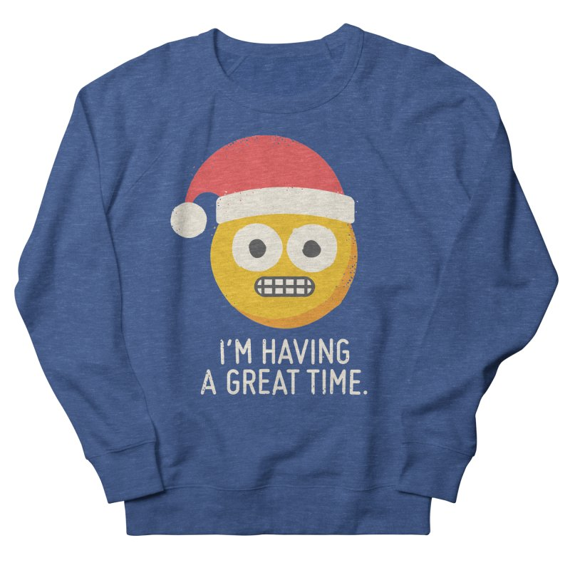 White Knuckle Christmas Men's Sweatshirt by David Olenick