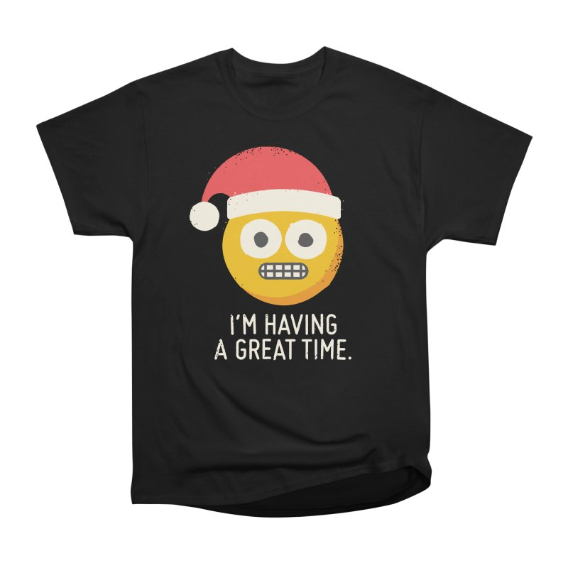 White Knuckle Christmas Men's Classic T-Shirt by David Olenick