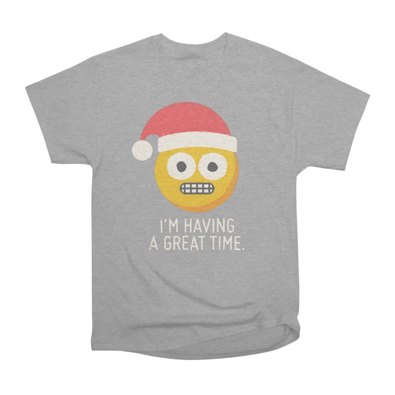White Knuckle Christmas Women's Classic Unisex T-Shirt by David Olenick
