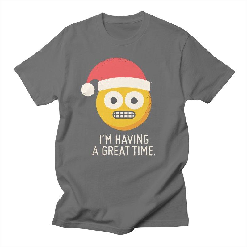 White Knuckle Christmas Women's Regular Unisex T-Shirt by David Olenick