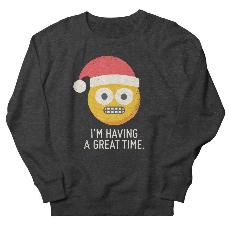 White Knuckle Christmas Women's Sweatshirt by David Olenick