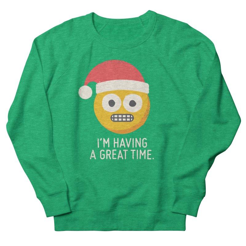 White Knuckle Christmas Men's Sweatshirt by David Olenick