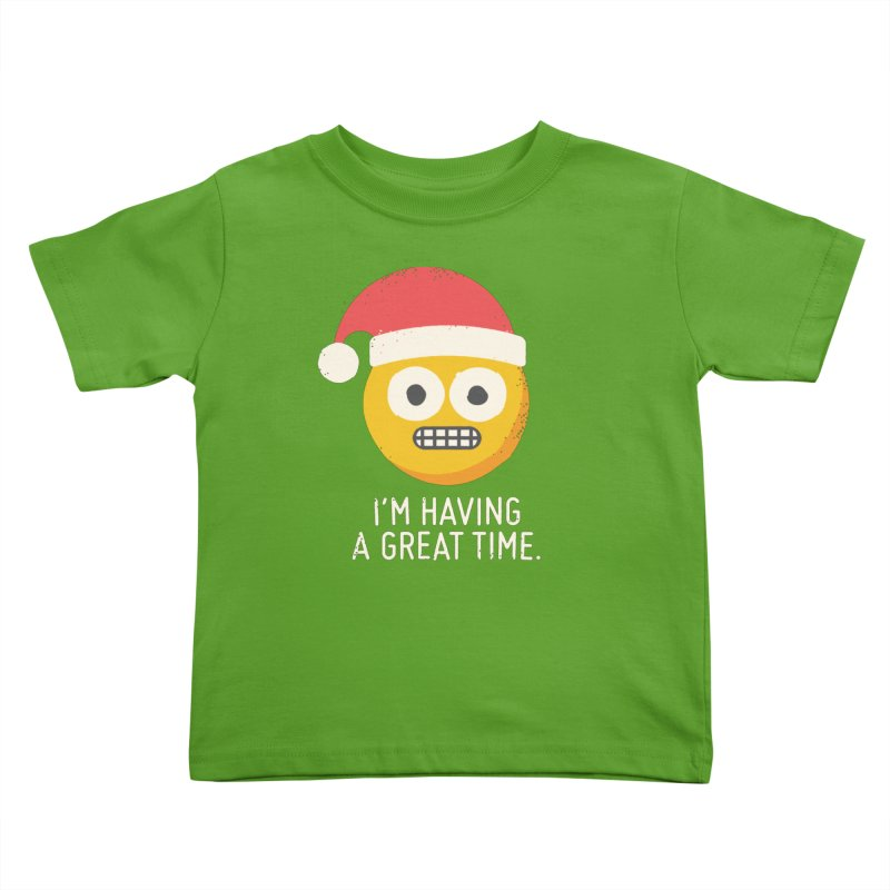 White Knuckle Christmas Kids Toddler T-Shirt by David Olenick