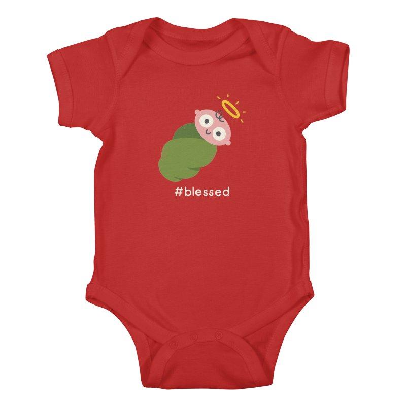 Divine Instavention Kids Baby Bodysuit by David Olenick