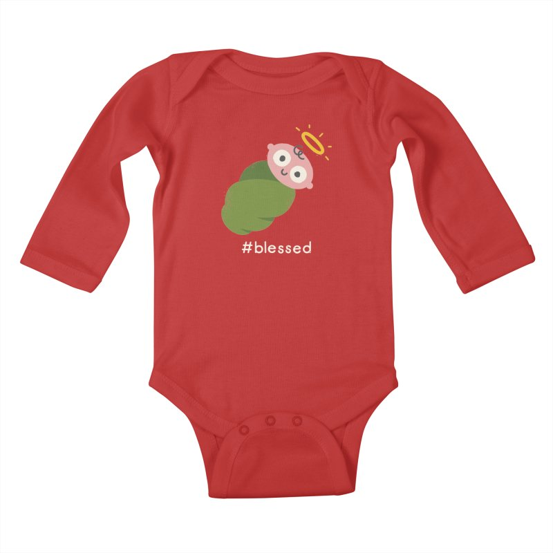 Divine Instavention Kids Baby Longsleeve Bodysuit by David Olenick