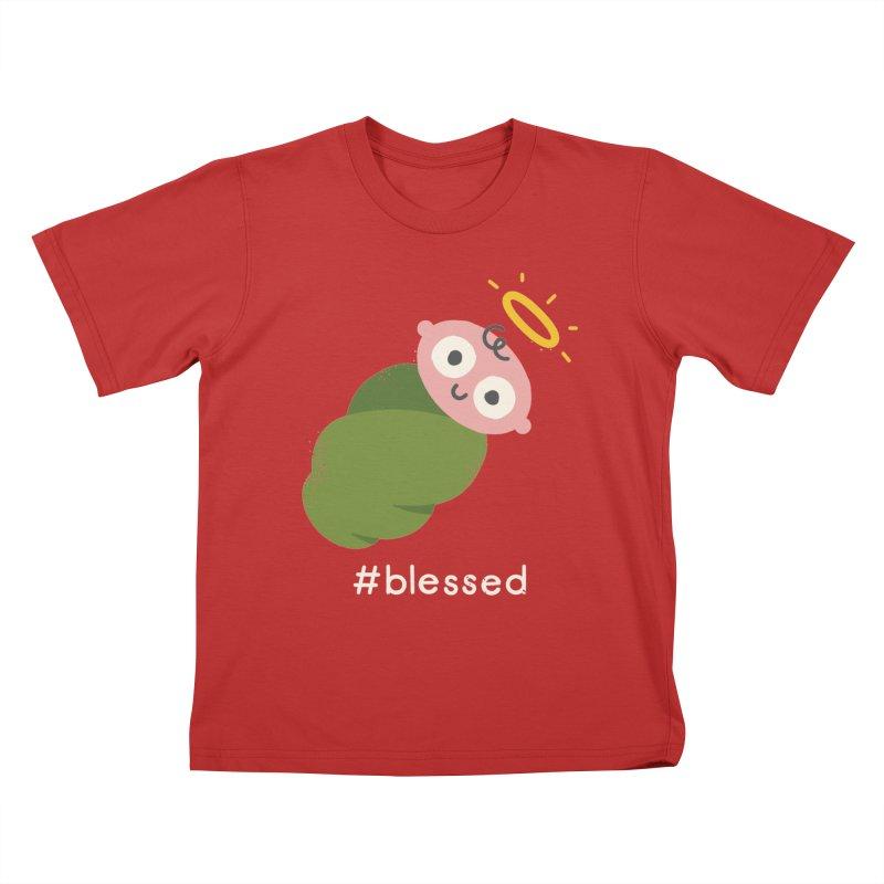 Divine Instavention Kids T-Shirt by David Olenick