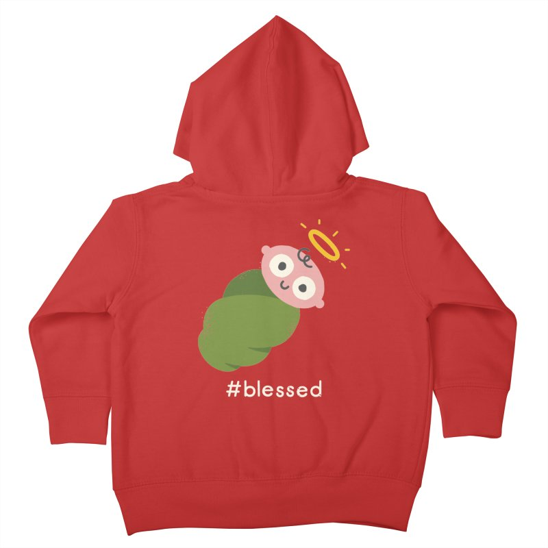 Divine Instavention Kids Toddler Zip-Up Hoody by David Olenick