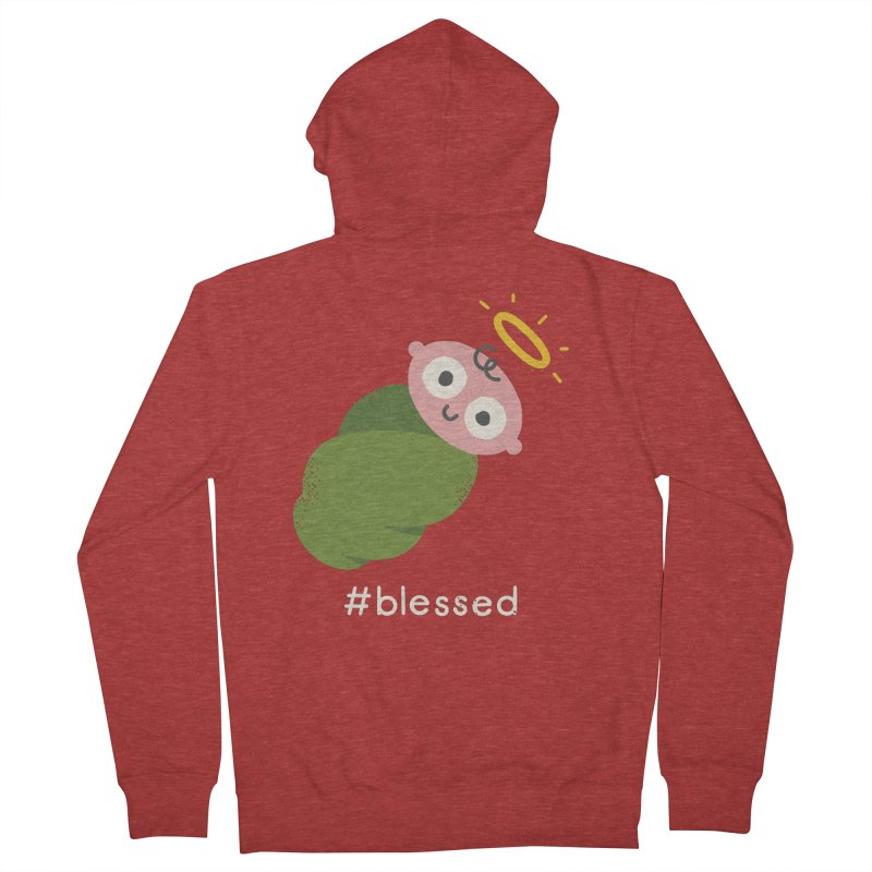 Divine Instavention Men's French Terry Zip-Up Hoody by David Olenick