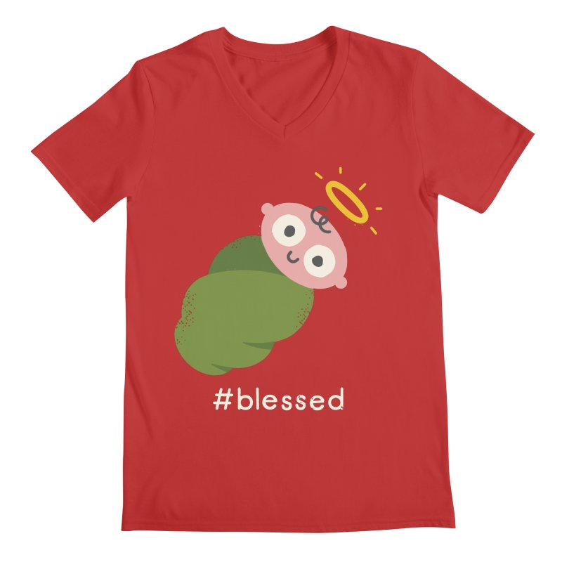 Divine Instavention Men's V-Neck by David Olenick