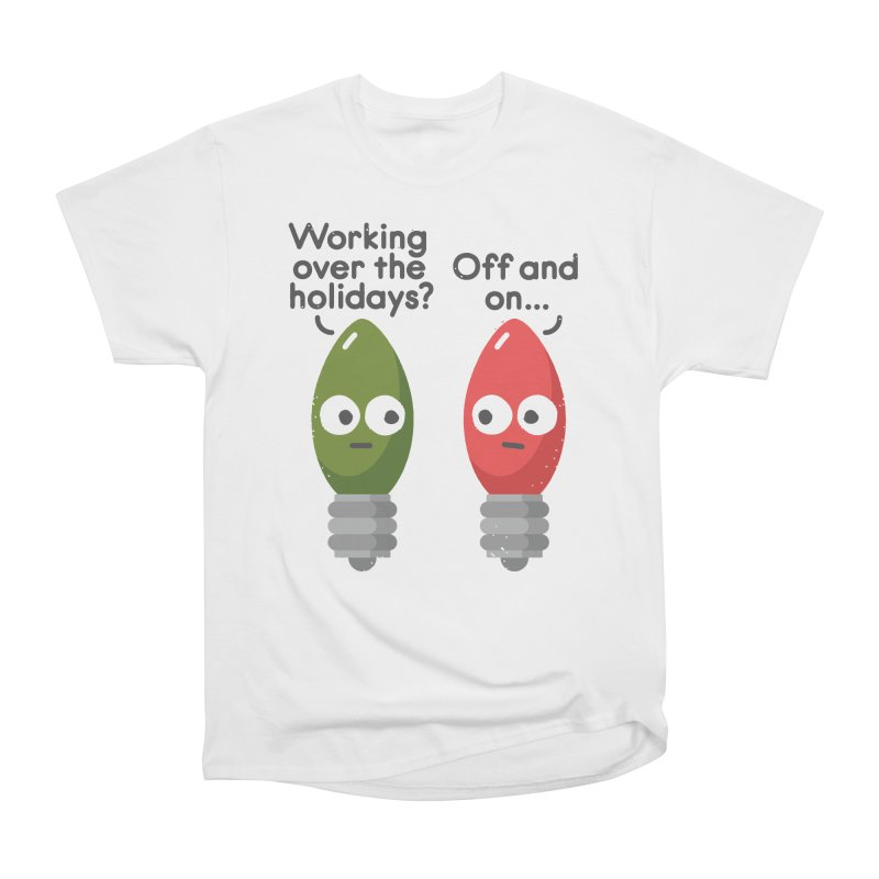 Seasonal Employment Men's Classic T-Shirt by David Olenick