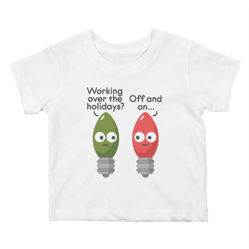Seasonal Employment Kids Baby T-Shirt by David Olenick