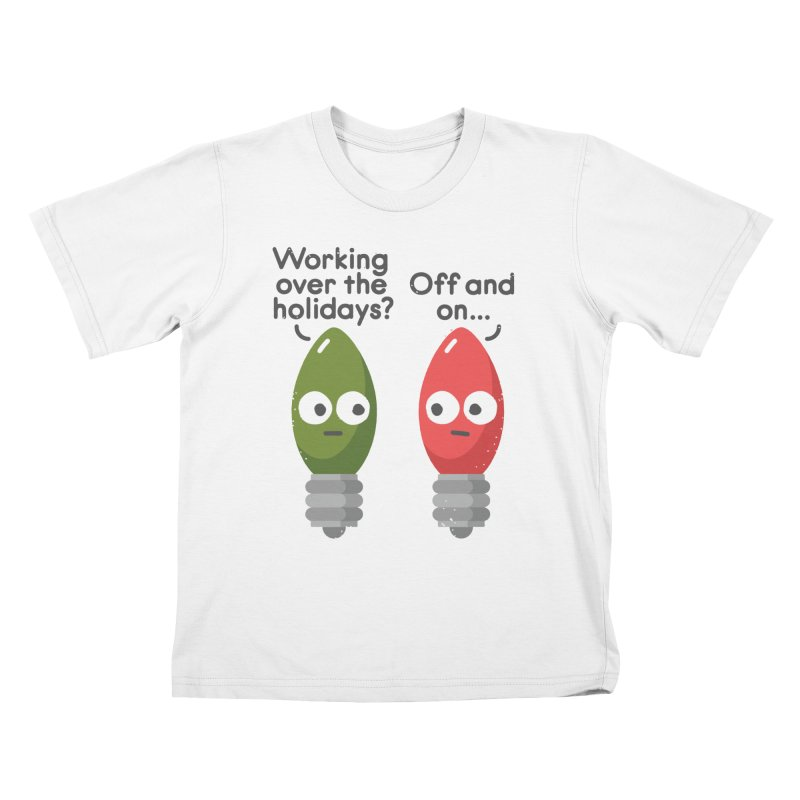 Seasonal Employment Kids T-Shirt by David Olenick