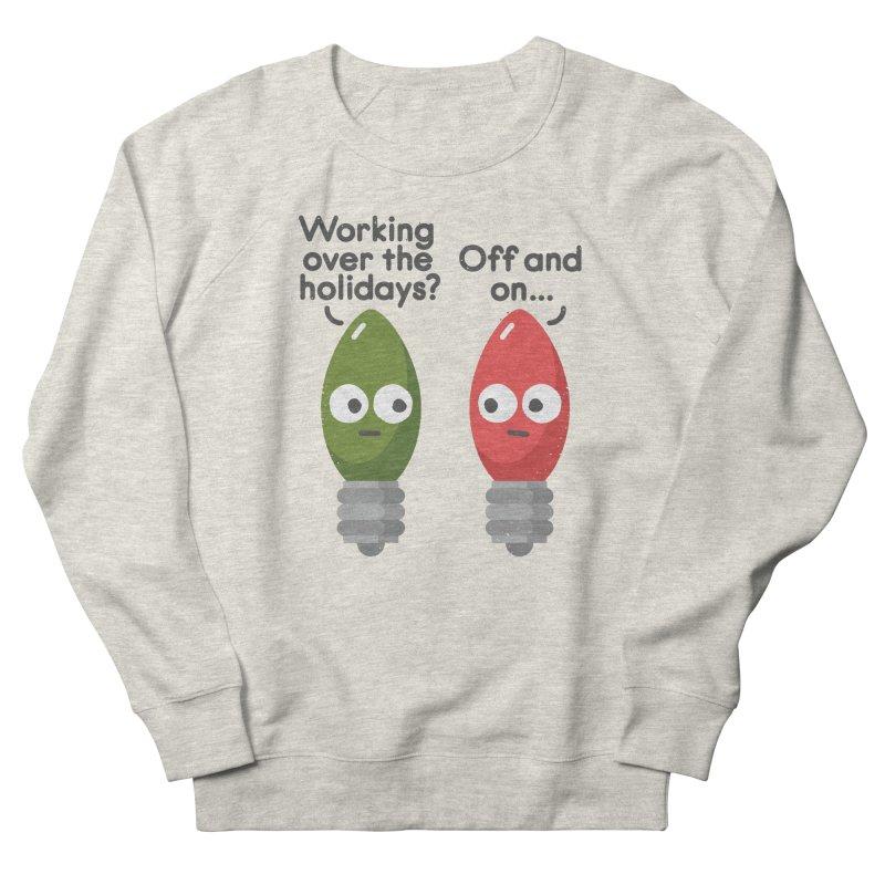 Seasonal Employment Men's Sweatshirt by David Olenick