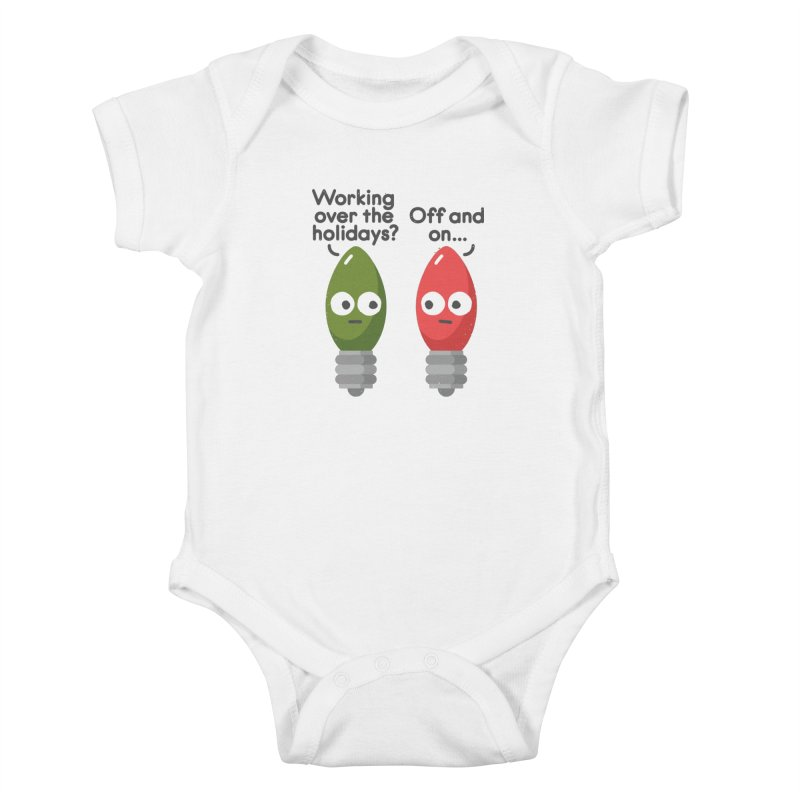 Seasonal Employment Kids Baby Bodysuit by David Olenick