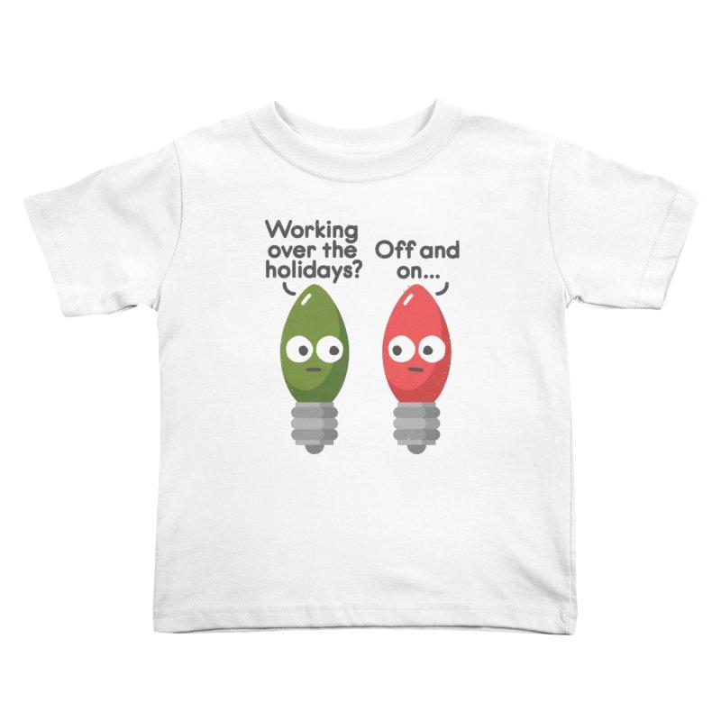 Seasonal Employment Kids Toddler T-Shirt by David Olenick