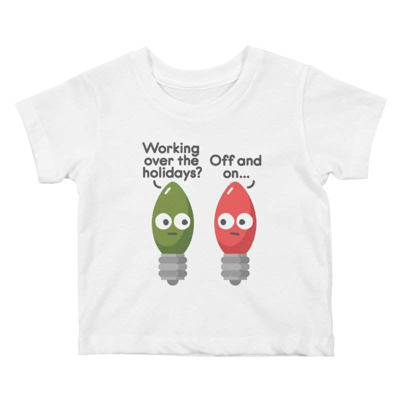 Seasonal Employment Kids Baby T-Shirt by David Olenick