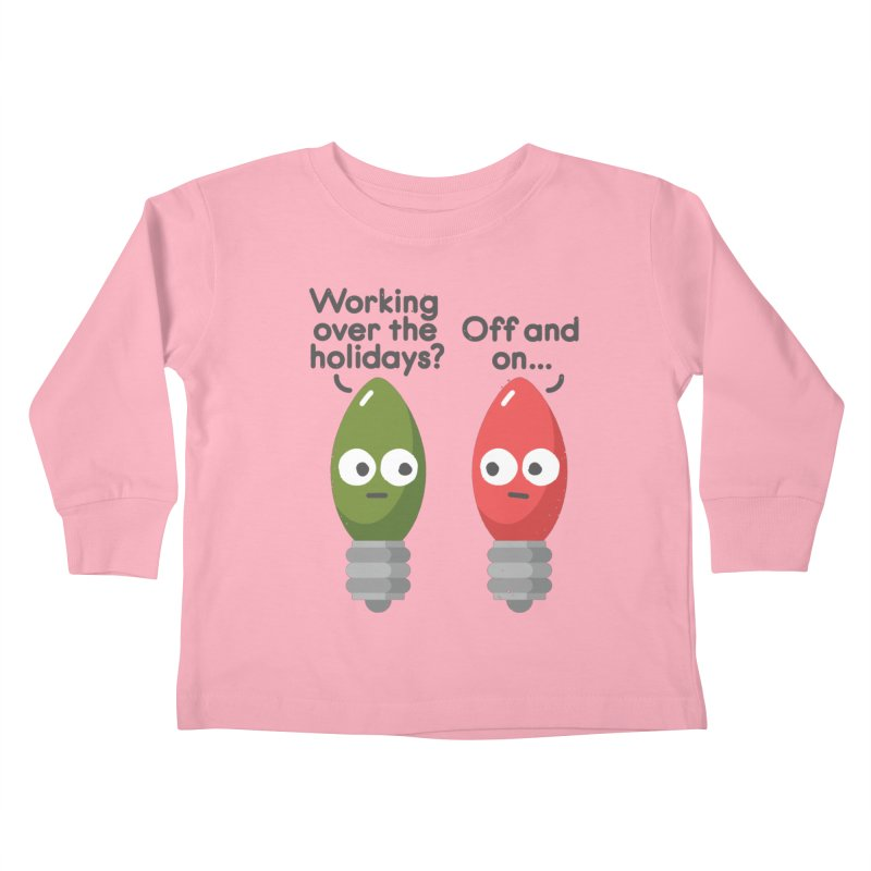 Seasonal Employment Kids Toddler Longsleeve T-Shirt by David Olenick