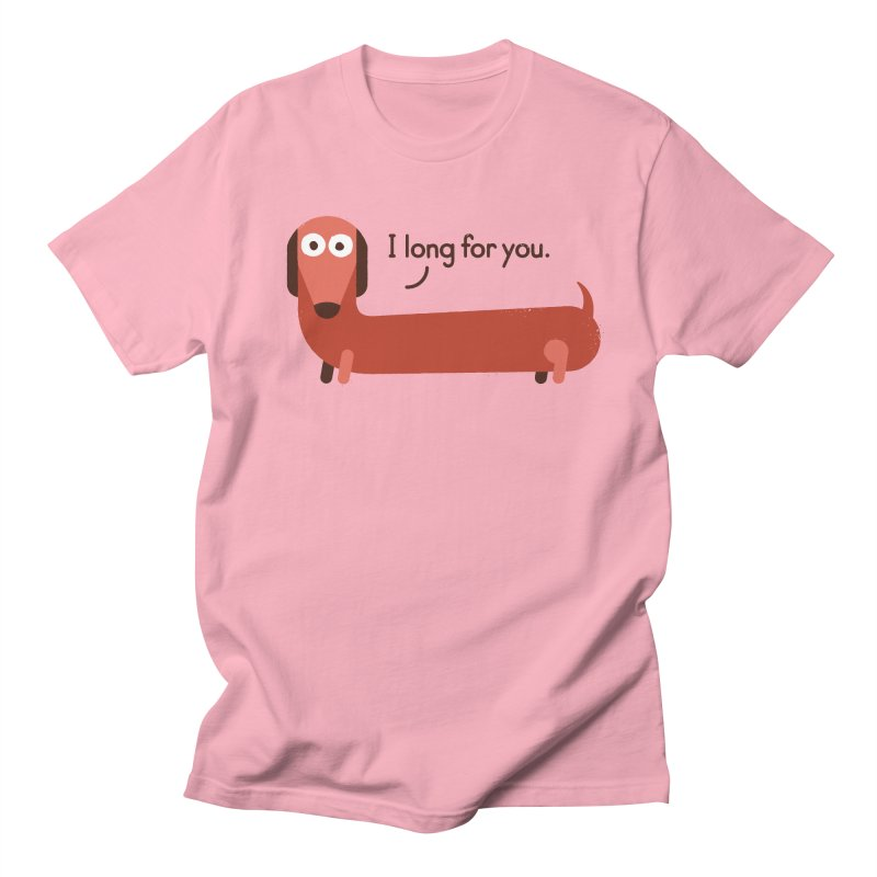 In the Wurst Way Men's T-Shirt by David Olenick