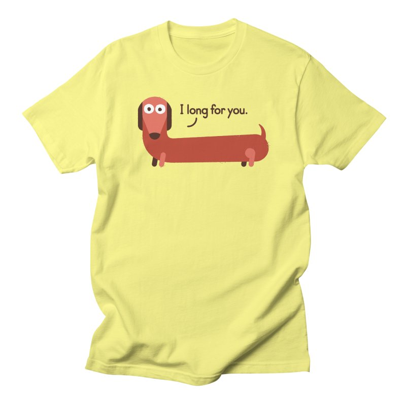 In the Wurst Way Women's Unisex T-Shirt by David Olenick