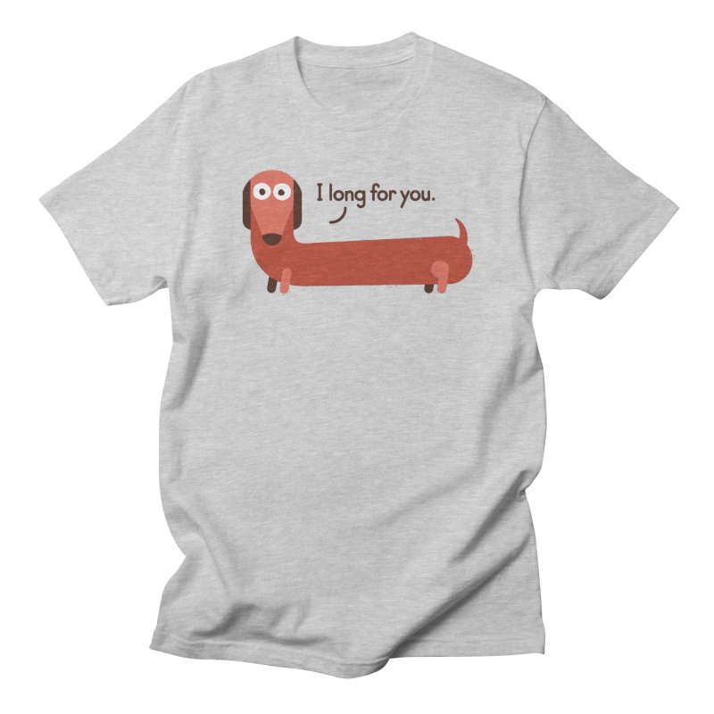 In the Wurst Way Women's Regular Unisex T-Shirt by David Olenick