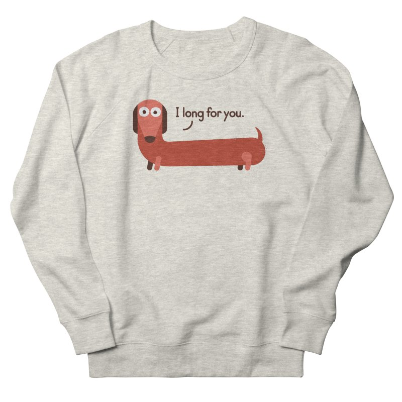 In the Wurst Way Women's Sweatshirt by David Olenick
