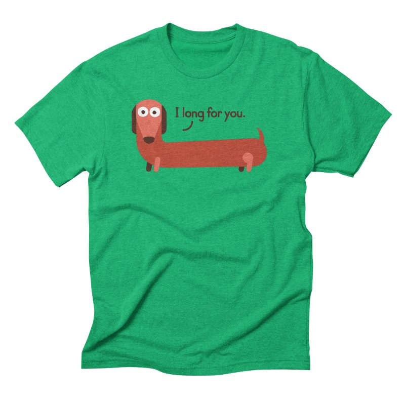 In the Wurst Way Men's Triblend T-Shirt by David Olenick