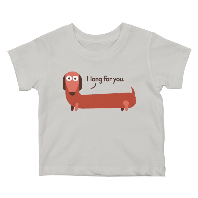 In the Wurst Way Kids Baby T-Shirt by David Olenick